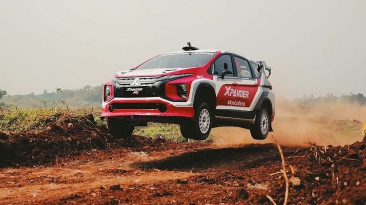 The Mitsubishi XPANDER AP4 will be the World's First Rally MPV Crossover