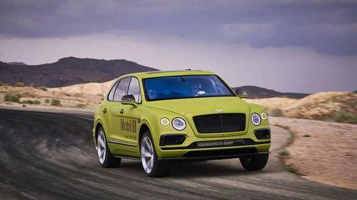 RACE TO THE CLOUDS – Bentley Bentayga W12